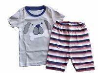 NWT Boy's Gymboree Dog short sleeve shirt & shorts pajamas gymmies 4 5 6 7 8 10