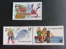 New Zealand 1980 Health Stamps fishing fish SG1225/7 MNH UM unmounted mint
