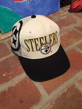 Vintage Pittsburgh Steelers Laser Snapback Hat NFL Football Sports Specialties