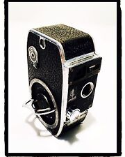 Cinepresa movie camera vintage Paillard Bolex 8 mm Model L8 1945