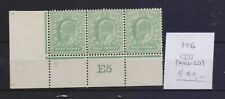! Great Britain 1902-1910. Faulty   Stamp. YT#106. €40.00 !