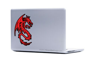 Dragon Vinyl Laptop or Automotive Art sticker decal computer auto