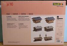 Faller 190458, Spur H0,  Bausatz Bergdorf Set, 3-teilig,
