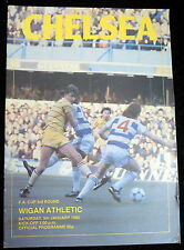 Chelsea v Wigan Athletic   FA Cup 3rd  Round      5-1-1985