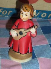 Vintage Angel Hong Kong Plastic Playing Guitar 4 1/8 Inch High