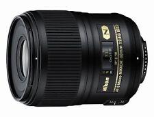 Nikon AF-S Micro-Nikkor 60mm f/2.8G ED Macro Lens New