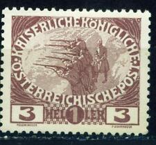 Austria WW1 Army Firing Step stamp 1915 MLH