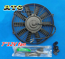 """7"""" inch 12V volt Electric Cooling Fan Thermo Fan + Mounting kits"""
