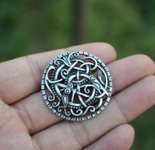 Brosch Talisman Brooch Norse Viking Celtic Dragon