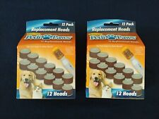 "2 pack - Pedi Pawsâ""¢ Pet Nail Trimmer Replacement Filing Heads 24 total"