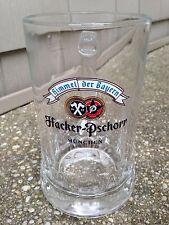 Hacker-Pschorr Himmel der Bayern Munchen 0.5 L Beer Glass Mug Germany Sahm