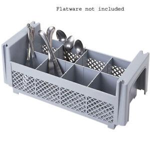 Cambro 8-Compartment Flatware Basket 8FBNH434151