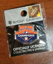 2019 Houston Astros American League AL Champions Pin made by WinCraft