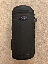 LOWEPRO 9cmx23cm BLACK LONG  ZOOM LENS CASE BAG