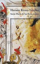 Santa MarÃa de las flores negras (Spanish Edition)