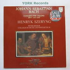 9502 016 - BACH - Violin Concertos bwv 1041-3 SZERYNG / RYBER - Ex LP Record