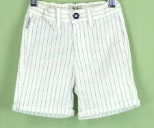 240 Armani baby boy white & black striped Shorts pants EUC Size 12m