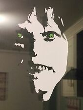 Exorcista Horror Linda Blair DECAL STICKER Vinyl Halloween portátil coche 185 mm