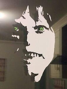 Exorcist Horror Linda Blair DECAL STICKER VINYL HALLOWEEN LAPTOP CAR 185mm