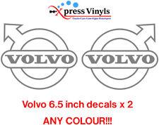 Volvo truck stickers x 2 vinyl decals FE FL FM FMX FH