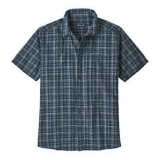 PATAGONIA Mens Organic Cotton Back Step Short Sleeve Shirt Size L