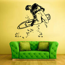 Wall Vinyl Sticker Bedroom Snowboard Snow Sport Snowboarder (Z1124)
