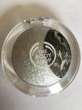"The Body Shop Baked to Last Eyeshadow Duo 06 ""Starlight"" Silver Full Sized 2 gr"