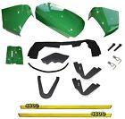New Upper Hood/Fuel Door Kit/Cowl Set/Mounting Seal Kit fits John Deere 4600