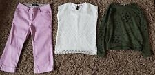 Girls Bundle Age 10/11 Mini Boden jeans tu new look casual jeans jumper kids 232