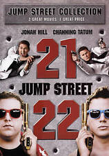 21 JUMP STREET / 22 JUMP STREET NEW DVD FREE SHIPPING!!