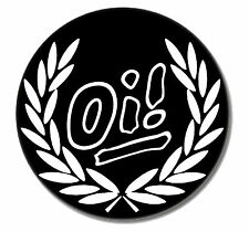 Oi! punk Button pin NEUF punk rock oi! skinhead HC Buttons pins working class skin