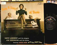 Lambert Hendricks & Ross ‎Sing A Song Of Basie Vinyl LP ABC-223 Mono 1st Press
