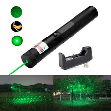 532nm 5mw 303 Green Laser Pointer Lazer Pen Burning Beam +18650+Charger Hot