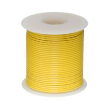 14 AWG Gauge GXL Automotive Stranded Hook Up Wire, 25 ft, Yellow, 60 Volts