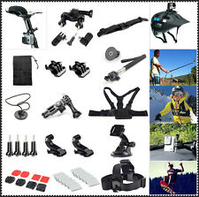 Accessory Kit set Outdoor Sport Bundle for Gopro Hero 4/Black/Silver 4/3+/3/2