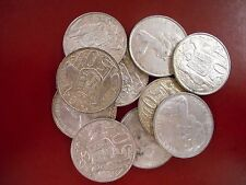 "10 x 1966 SILVER ROUND FIFTY Cent "" 50c """