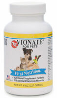 Vionate Vitamin Mineral Powder 8 oz Pets Rickets
