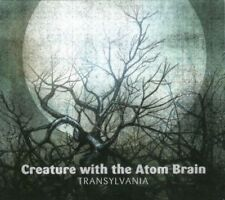 CREATURE WITH THE ATOM BRAIN Transylvania 10-track CD Album Digipak NEW sealed
