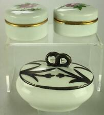 Lot of 3 Von Schierholz's & Bollate Milanese Porcelain Pin Dishes DH2