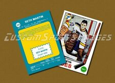 Seth Martin - St. Louis Blues - Custom Hockey Card  - 1968-69