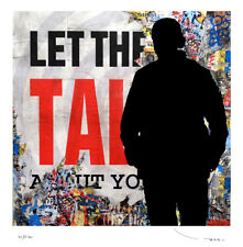 TEHOS-Let Them Talk-Edition limitée 250 EX-Street art Pop art