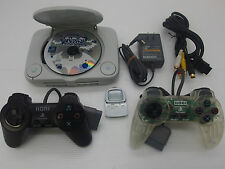 Playstation PS One Console System with Hori + Pocket Station Bundle Japan Vers