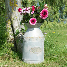 Large Milk Churn Vase Shabby Chic Flower Pot Planter Wedding Table Decoration