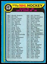 1979 80 OPC O PEE CHEE #346 UNMARKED CHECKLIST 265-396 EX-NM HOCKEY card