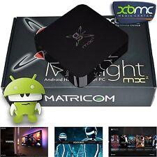 Matricom G-Box Midnight MX2 Linux Kodi 17 OpenELEC LibreELEC 1080P Media Player
