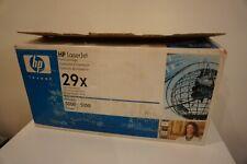 HP GENUINE/ORIGINAL 29X BLACK LASER PRINTER TONER CARTRIDGE C4129X Opened