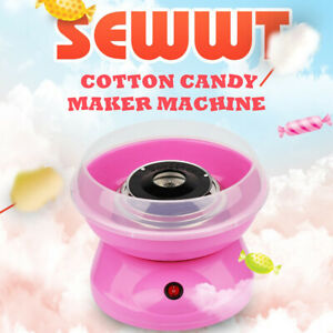 Electric DIY Cotton Sugar Candy Floss Maker Machine Kid Home Party Sweet Gifts