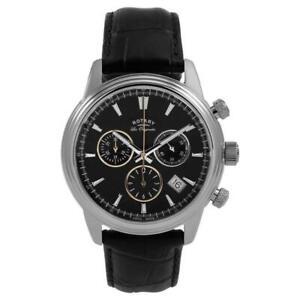Rotary Mens Monaco Black Chronograph GS90125/04