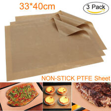 3 Sheet  Baking Non-Stick Paper Heat Microwave BBQ Grill Press Pad Pastry Mat