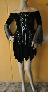 NWT $19.99 RUBIE'S SEXY STAR WITCH ADULT COSTUME COSPLAY - One Size